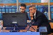 DESCRIZIONE : Campionato 2014/15 Serie A Beko Grissin Bon Reggio Emilia - Dinamo Banco di Sardegna Sassari Finale Playoff Gara7 Scudetto<br /> GIOCATORE : Luigi LaMonica<br /> CATEGORIA : Arbitro Referee Instant Replay<br /> SQUADRA : AIAP<br /> EVENTO : LegaBasket Serie A Beko 2014/2015<br /> GARA : Grissin Bon Reggio Emilia - Dinamo Banco di Sardegna Sassari Finale Playoff Gara7 Scudetto<br /> DATA : 26/06/2015<br /> SPORT : Pallacanestro <br /> AUTORE : Agenzia Ciamillo-Castoria/L.Canu