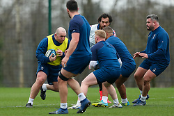 Yann Thomas of Bristol Bears in action during a training session - Rogan/JMP - 04/03/2021 - RUGBY UNION - Bristol Bears High Performance Centre - Bristol, England.