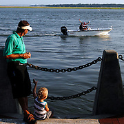 Moments from the 59th Beaufort Water Festival at Henry C. Chambers Park in Beaufort on July 24, 2014.