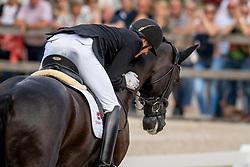 Helgstrand Andreas, DEN, Zhaplin Langholt<br /> World Championship Young Dressage Horses - Ermelo 2019<br /> © Hippo Foto - Dirk Caremans<br /> Helgstrand Andreas, DEN, Zhaplin Langholt