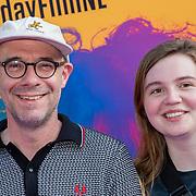 NLD/Amsterdam/20190624 - speciale voorvertoning Yesterday, Owen Schumacher en dochter
