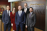 SHOT 1/8/19 12:18:43 PM - Bachus & Schanker LLC lawyers James Olsen, Maaren Johnson, J. Kyle Bachus, Darin Schanker and Andrew Quisenberry in their downtown Denver, Co. offices. The law firm specializes in car accidents, personal injury cases, consumer rights, class action suits and much more. (Photo by Marc Piscotty / © 2018)