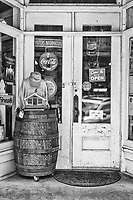 Doorway into the general store in Saluda.  Bought a Moon Pie there- yum!