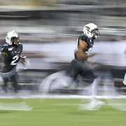ORLANDO, FL - AUGUST 29: Otis Anderson #2 of the UCF Knights runs back a punt during a NCAA football game between the Florida A&M Rattlers and the UCF Knights on August 29 2019 in Orlando, Florida. (Photo by Alex Menendez/Getty Images) *** Local Caption *** Otis Anderson