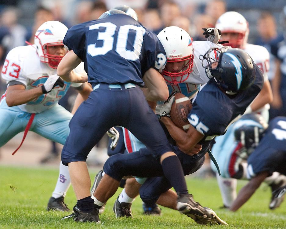 Saint Joseph's High School Football 2009.St. Joe vs. Elkhart Central