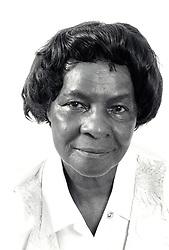 Portrait of older woman UK 1995