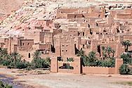 UNESCO World Heritage site ksar and kasbah Ait Ben Haddou.