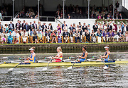 Henley Royal Regatta, Henley on Thames, Oxfordshire, 28 June - 2 July 2017.  Saturday  14:49:34   01/07/2017  [Mandatory Credit/Intersport Images]<br /> <br /> Rowing, Henley Reach, Henley Royal Regatta.<br /> <br /> The Princess Grace Challenge Cup<br />  Nottingham Rowing Club and Warrington Rowing Club