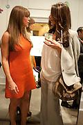 MARYA SOUSSANE; TALA SHAKARCHI, Vogue: Fashion's Night Out: Stella McCartney. Stella McCartney, 30 Bruton Street, London. 8 September 2010.  -DO NOT ARCHIVE-© Copyright Photograph by Dafydd Jones. 248 Clapham Rd. London SW9 0PZ. Tel 0207 820 0771. www.dafjones.com.