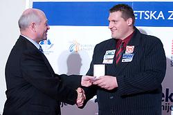 Miroslav Vodovnik at Best Slovenian athlete of the year ceremony, on November 15, 2008 in Hotel Lev, Ljubljana, Slovenia. (Photo by Vid Ponikvar / Sportida)