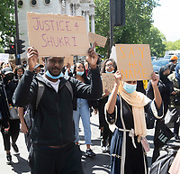 March for Shukri Abbdi  from Hyde Park to the  Department for Education photo by Brian Jordan