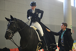 Muller Lisa, (GER), Birkhof's Dave FBW<br /> Grand Prix  Special Dressage München 2015<br /> © Hippo Foto - Stefan Lafrentz