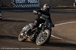 Racing Harley-Davidson Flatheads at the Okie Dokie Vintage Races put on by Go Takamine's Brat Style at West Point Off-Road Village, Kawagoe, Saitama, Japan. Tuesday, December 4, 2018. Photography ©2018 Michael Lichter.