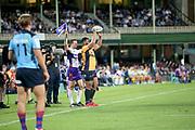 Folau Fainga'a. NSW Waratahs v ACT Brumbies. 2021 Super Rugby AU Round 7 Match. Played at Sydney Cricket Ground on Friday 2 April 2021. Photo Clay Cross / photosport.nz