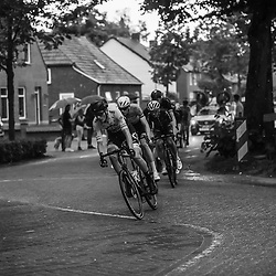 VELDHOVEN (NED) July 4 <br /> CYCLING <br /> The first race of the Schwalbe Topcompetition the Simac Omloop der Kempen<br /> Sfeer kopgroep