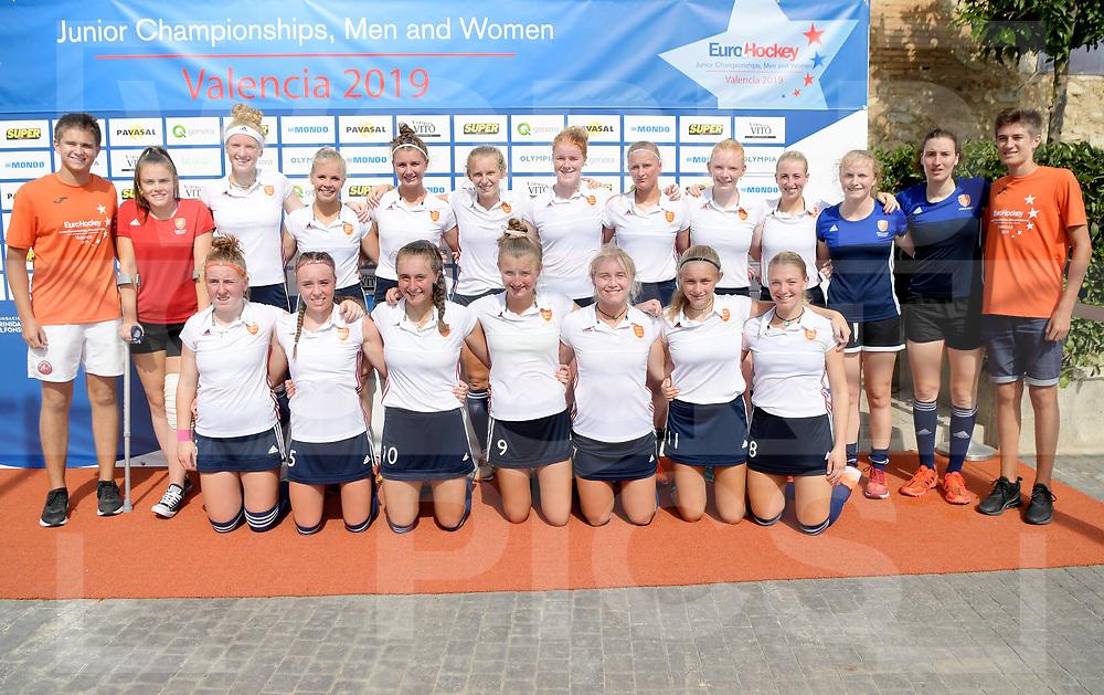 VALENCIA - EuroHockey Junior Championship Women<br />Russia v England (5th/6th Place)<br />Photo: <br /> WORLDSPORTPICS COPYRIGHT FRANK UIJLENBROEK