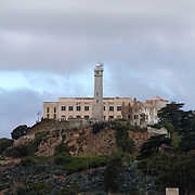 Alcatraz prison is located on an island about a mile from city of San Francisco.
