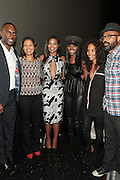 September 20, 2012- New York, New York:  (L-R) Actor Robert Brooks, Media Personality/Writer Cori Murray, Actress Gabrielle Unioin, Actress Tika Sumpter, Television Writer/Producer Mara Brock Akil and Director Salim Akil attend the 2012 Urbanworld Film Festival Opening night premiere screening of  ' Being Mary Jane ' presented by BET Networks held at AMC 34th Street on September 20, 2012 in New York City. The Urbanworld® Film Festival is the largest internationally competitive festival of its kind. The five-day festival includes narrative features, documentaries, and short films, as well as panel discussions, live staged screenplay readings, and the Urbanworld® Digital track focused on digital and social media. (Terrence Jennings)