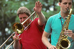 Peter Wilkins On Trombone, Parade On 4th Of July