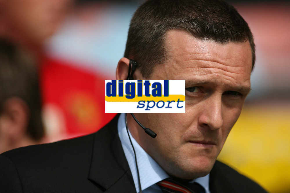Photo: Pete Lorence/Richard Lane Photography. <br /> Watford v Scunthorpe United. Coca-Cola Championship. 26/04/2008. <br /> Watford manager, Adrian Boothroyd before the match.