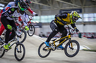 #32 (ROSA Shane) AUS during practice at the 2019 UCI BMX Supercross World Cup in Manchester, Great Britain