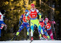 Jakov Fak (SLO) competes during Men 12,5 km Pursuit at day 3 of IBU Biathlon World Cup 2015/16 Pokljuka, on December 19, 2015 in Rudno polje, Pokljuka, Slovenia. Photo by Vid Ponikvar / Sportida