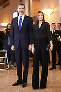 030817 Spanish Royals Attend Tribute Concert For Terrorism Victims in Madrid