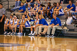 18 June 2011: Allie Norton next to coach debbie Coffman at the 2011 IBCA (Illinois Basketball Coaches Association) girls all star games.