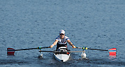 Sarasota. Florida USA. PR1 Women's Single Sculls. NOR. PR1 W1X. Birgit SKARSTEIN, Move's away from the start at the 2017 FISA World Rowing Championships, Nathan Benderson Park<br /> <br /> Tuesday  26.09.2017   <br /> <br /> [Mandatory Credit. Peter SPURRIER/Intersport Images].