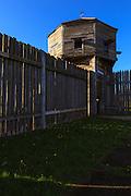 USA, Washington, Fort Vancouver National Historic Site.