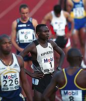 Friidrett,  Wilson Kipketer fra Danmark løp 800 meter i Bislett Games 1999. Foto: Digitalsport.
