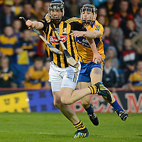 15 September 2012; Walter Walsh, Kilkenny, in action against David McInerney, Clare. Bord Gáis Energy GAA Hurling Under 21 All-Ireland 'A' Championship Final, Clare v Kilkenny, Semple Stadium, Thurles, Co. Tipperary. Picture credit: Matt Browne / SPORTSFILE