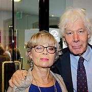 NLD/Leiden/20121021- Premiere Contrapunt, Paul van Vliet en partner Lidewij de Jongh
