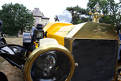 04 August 2012:  1914 Ford Model T Speedster displayed at the McLean County Antique Automobile Club Show at the David Davis Mansion, Bloomington IL