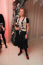 MIRANDA RICHARDSON at the launch of the English National Ballet's Christmas season 2009 held at the St.Martin;s Lane Hotel, London on 15th December 2009.