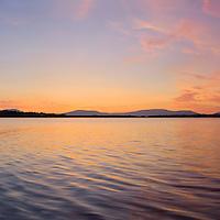 Lough Currane Sunset, Waterville Co. Kerry, Ireland / wvx010