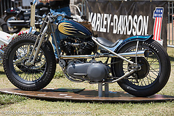 BF8 Invited builders Brothers Jake and Zach Hindes Prism custom 1941 Harley-Davidson Knucklehead at the Born Free 8 Motorcycle Show on Sunday. Silverado, CA, USA. June 26, 2016.  Photography ©2016 Michael Lichter.