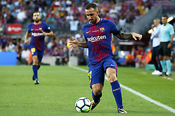 August 20, 2017 - Barcelona, Catalonia, Spain - Paco Alcacer during La Liga match between F.C. Barcelona v Alaves, in Barcelona, on September 10, 2016. Photo: Edi Capmany/Urbanandsport/Nurphoto  (Credit Image: © Joan Valls/NurPhoto via ZUMA Press)