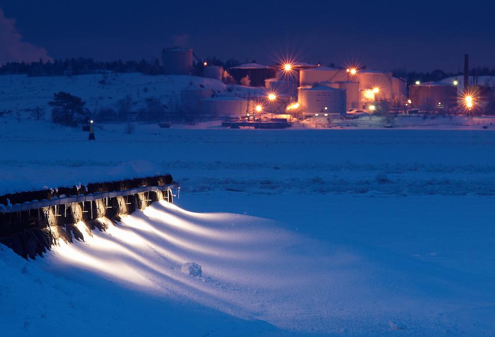 Finland - Frozen sea in Helsinki