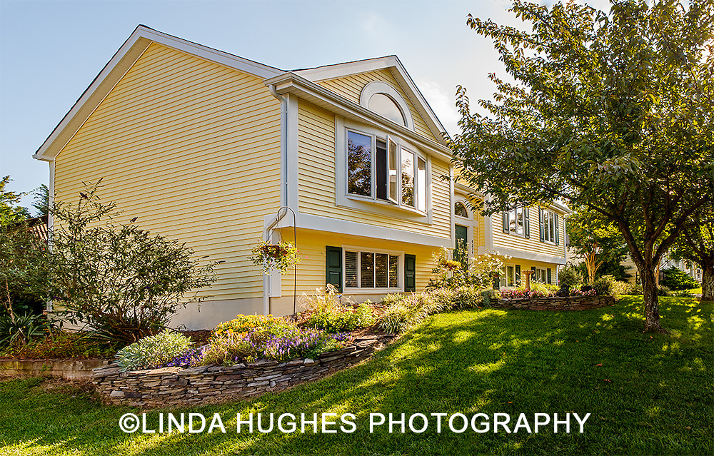 Split Level Home with Landscaping