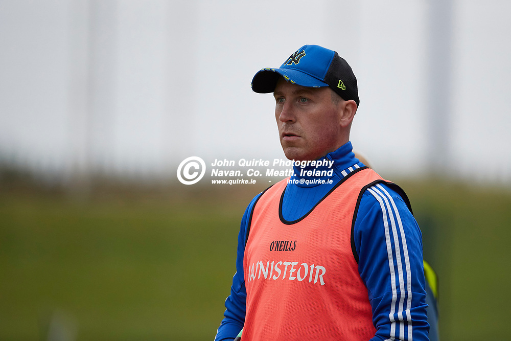 06-08-21, <br /> J2HC 2020 Final at Pairc Tailteann, Navan.<br /> Boardsmill v Dunderry<br /> Boardsmill Manager - Neil McLoughlin<br /> Photo: David Mullen / www.quirke.ie ©John Quirke Photography, Proudstown Road Navan. Co. Meath. 046-9079044 / 087-2579454.<br /> ISO: 2500; Shutter: 1/1000; Aperture: 4;