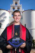 Graduation portrait.