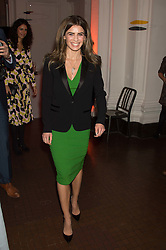 JOANNE SALLEY at a dinner to celebrate Sir David Tang's 20 year patronage of the Royal Academy of Arts and the start of building work on the Burlington Gardens wing of the Royal Academy held at 6 Burlington Gardens, London on 26th October 2015.