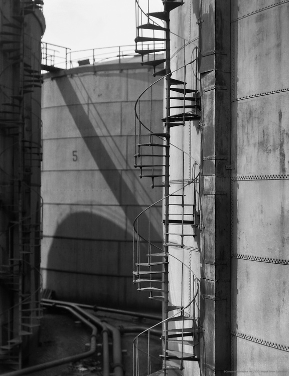 Oil Tanks and Spiral Stairway, Hamburg, 1925