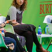 London, England, UK. 10th November 2017. how to break into a business you know nothing about with Step Douglas at the Stylist Live 2017 at Olympia London.