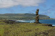 Ahu (platform) ,Easter Island (Rapa Nui), Chile<br />