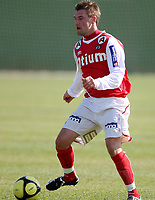 Fotball <br /> LaManga<br /> 16.03.2010<br /> Moss FK  v Bryne FK  1-3<br /> Foto: Dagfinn Limoseth, Digitalsport<br /> Kai Ove Stokkeland , Bryne