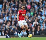 Manchester United's Michael Carrick in action<br /> <br /> - Barclays Premier League - Manchester City vs Manchester Utd - Etihad Stadium - Manchester - England - 2nd November 2014  - Picture David Klein/Sportimage