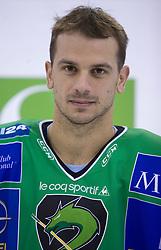Jurij Golicic of HDD Tilia Olimpija before new season 2008/2009,  on September 17, 2008 in Arena Tivoli, Ljubljana, Slovenia. (Photo by Vid Ponikvar / Sportal Images)