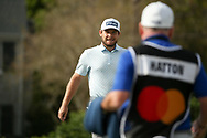 Tyrrell Hatton (ENG) aand caddy Michael Donaghy during the final round of the Arnold Palmer Invitational presented by Mastercard, Bay Hill, Orlando, Florida, USA. 08/03/2020.<br /> Picture: Golffile   Scott Halleran<br /> <br /> <br /> All photo usage must carry mandatory copyright credit (© Golffile   Scott Halleran)